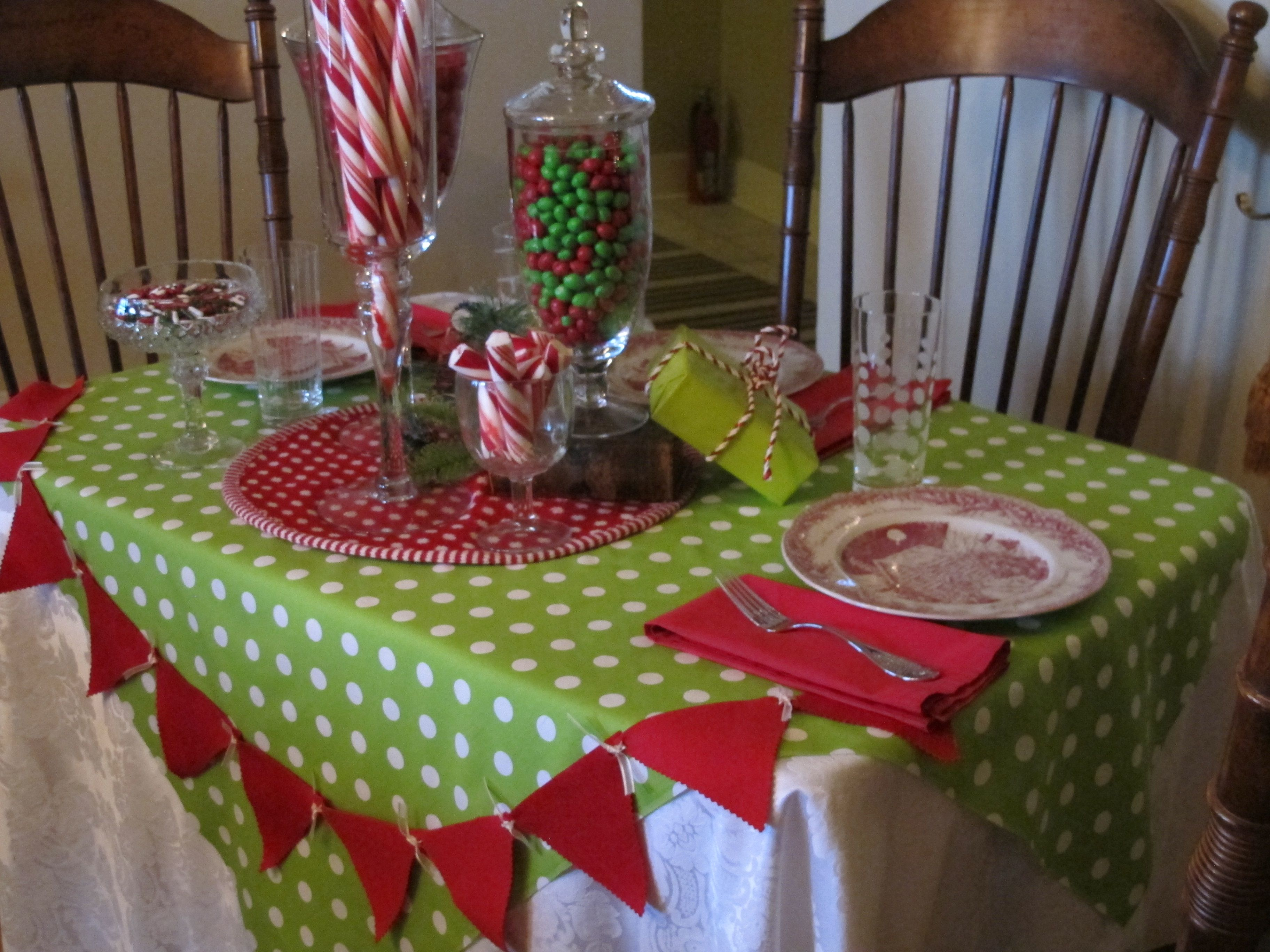 Christmas Tablescape Christmas tablescapes, Holiday