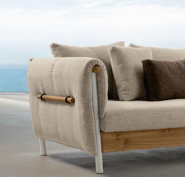 loungemoebel garten polsterung holzrahmen Terrasse Pinterest
