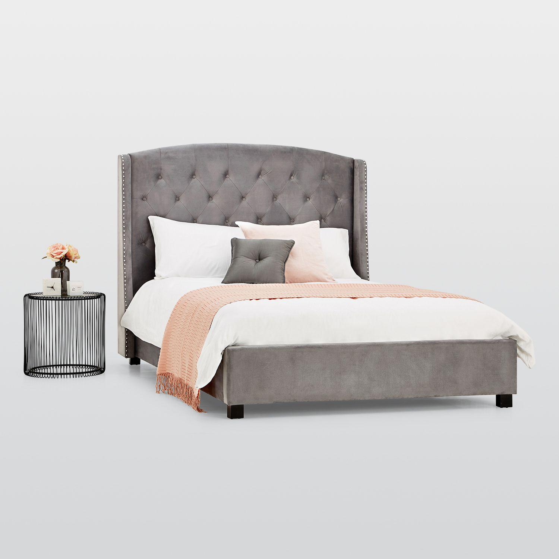 Burlington Velvet Bed Frame – Next Day Delivery Burlington Velvet ...