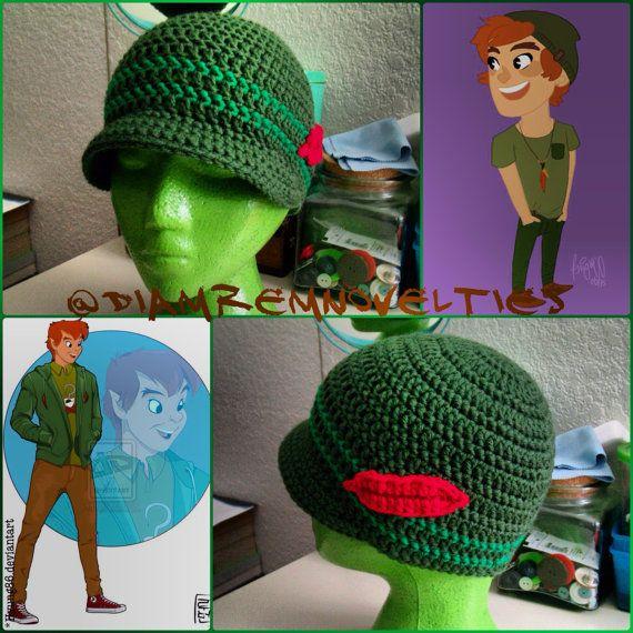 Hipster Peter Pan beanie | Peter pan | Pinterest