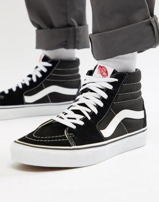 Vans - Sk8-Hi - Baskets - Noir | ASOS en 2020 | Chaussures vans ...