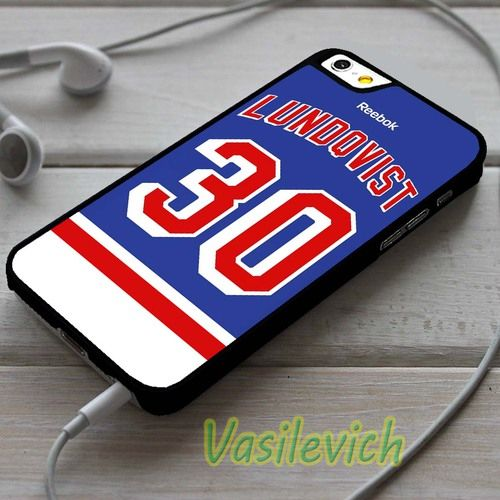 Henrik Lundqvist Jersey Fashion Phone Case Cover For Iphone 4 4s 5