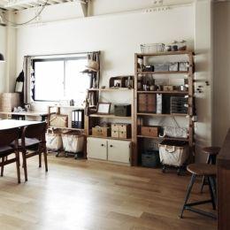 (2nd) Living (detached house renovation | K House, Mizuho-ku, Nagoya) –Living dining example | SUVACO