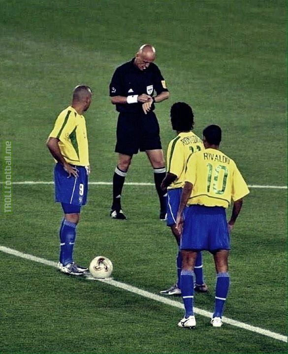 One Photo Four Legends Best Football Players World Football Rivaldo