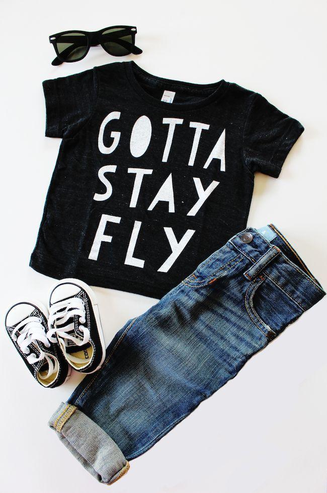 gotta stay fly baby kids fashion v tements enfants. Black Bedroom Furniture Sets. Home Design Ideas