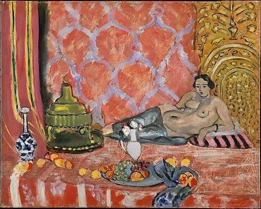 Henri Matisse (French, 1869-1954): Odalisque with Gray Trousers, 1927.