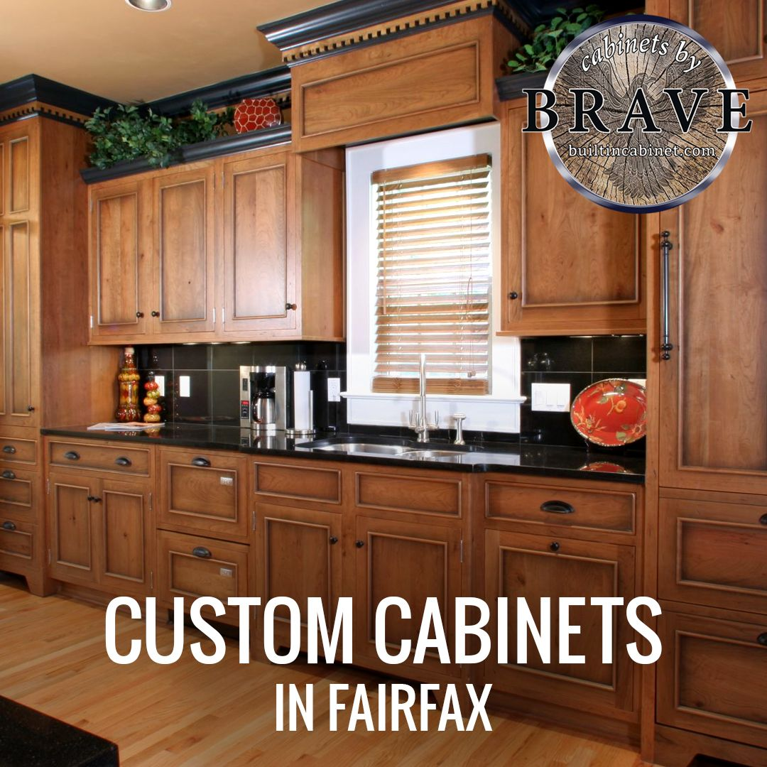 Our Custom Cabinets In Fairfax Will Bring Your Ideas To Life From Size Color Look Feel And Material We Pro Custom Cabinets Elegant Kitchen Decor Kitchen