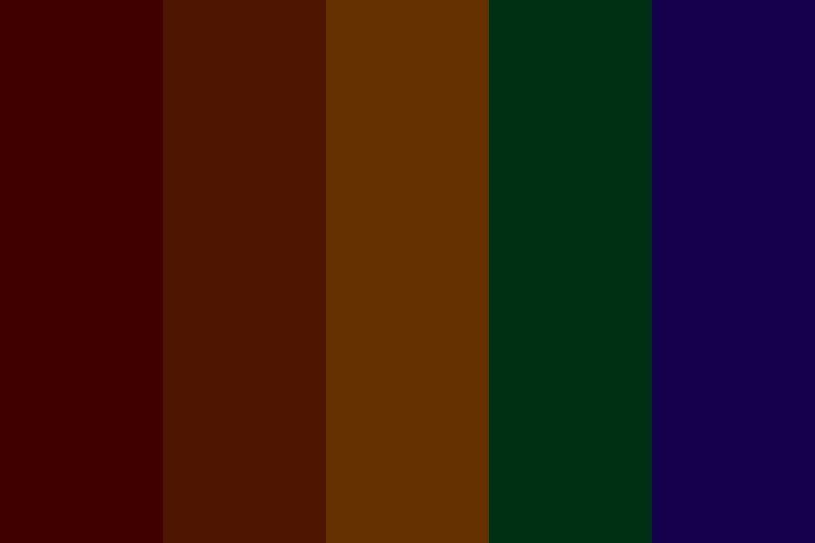 Evil Rainbow Color Palette Colorpalettes Colorschemes Design