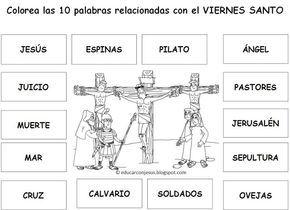 Actividades Sobre La Muerte Y Resurreccion De Jesus Para Niños Buscar Con Google Crucifixión De Jesús Imagenes De Viernes Santo Viernes Santos