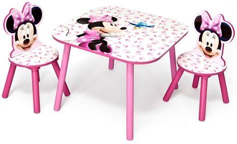Minnie Mouse, Bord & 2 stolar | Mimmi pigg, Stolar, Mouse