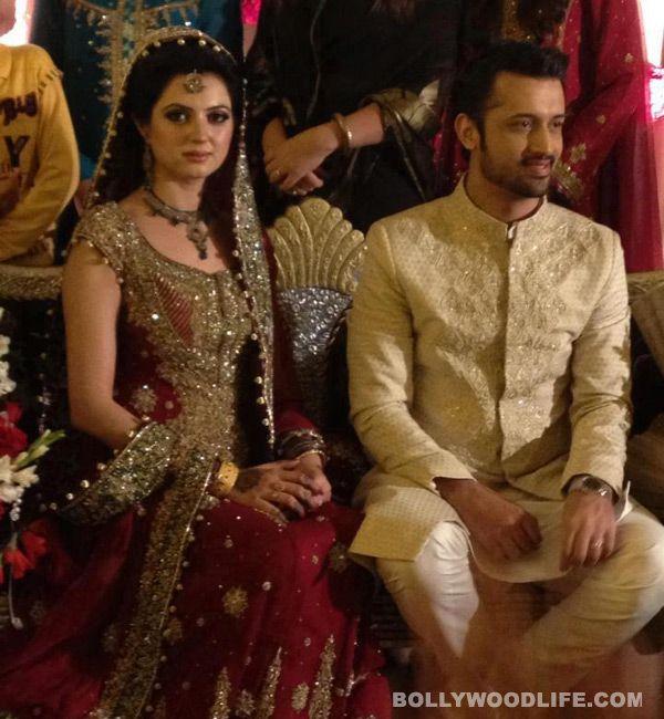 Wedding Of Popular Singer Atif Aslam And Long Time GF Sara Bharwana End March 2013 Lahore