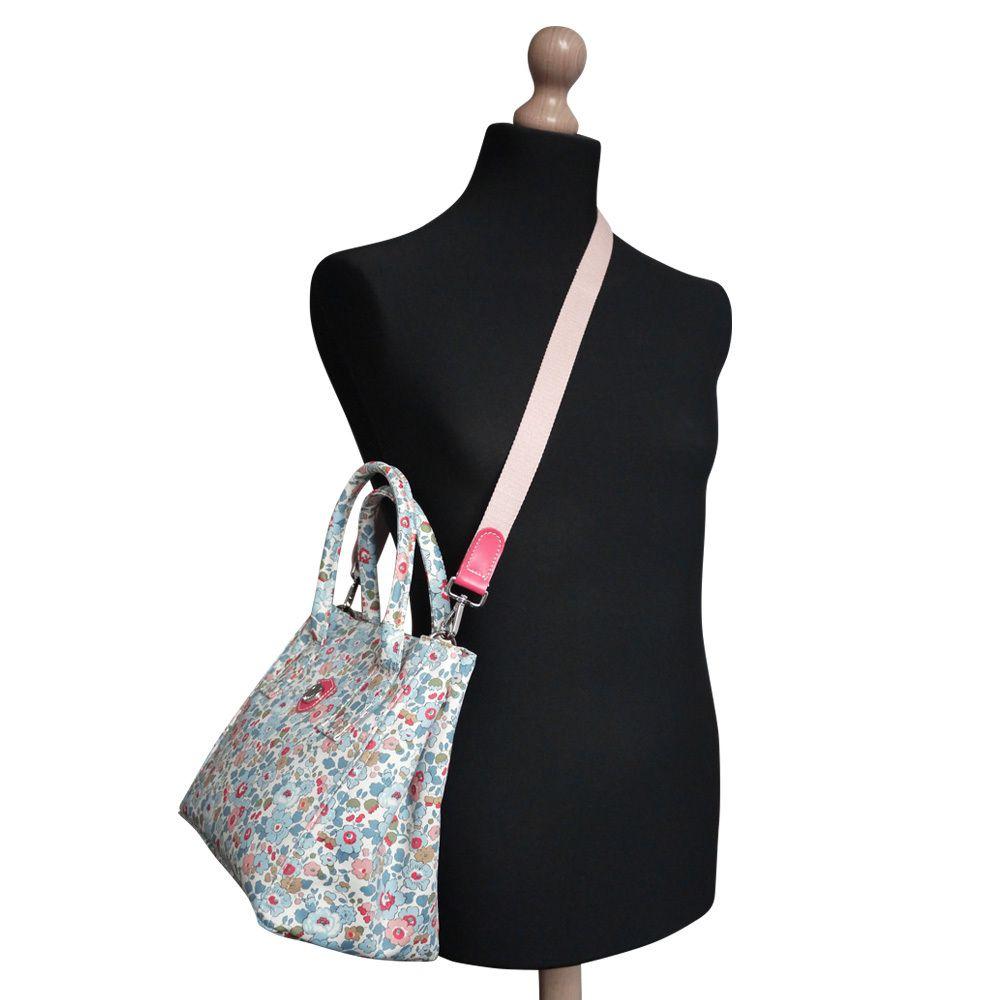 Attavanti - Bonfanti Liberty Betsy Grab Tote Shoulder Handbag - Blue b113257d19387
