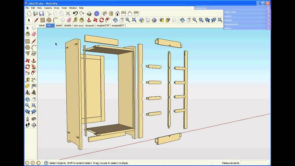 Sketchup For Woodworkers Getting Started