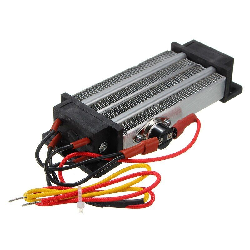Ac 220v 500w Electric Ceramic Thermostatic Ptc Heating Element Heater Surface Insulation Constant Temperature Air Heating Heating Element Air Heating Diy Kits