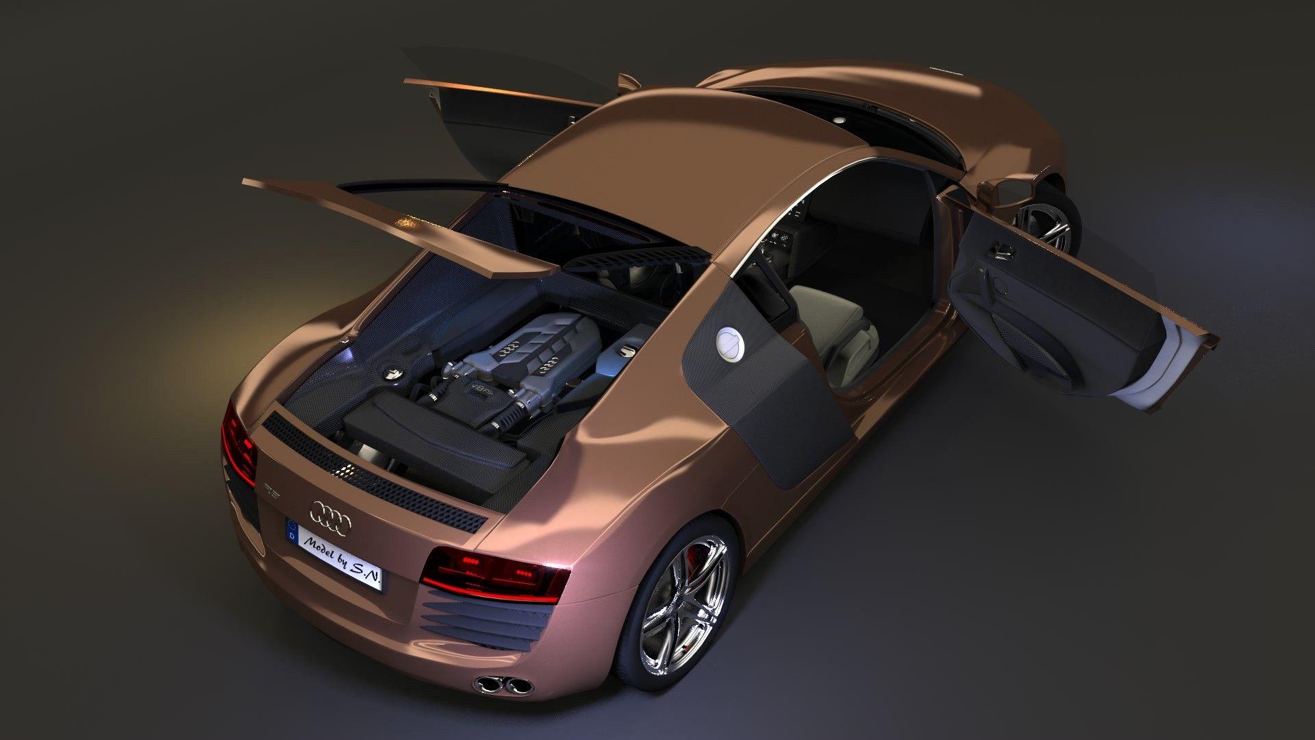D Audi R Car Model Car Pinterest R Car And Cars - Audi car 3d games
