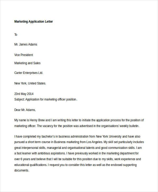 free application letter templates amp premium jobs examples job - sample letter of interest for a job position