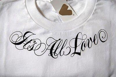 camiseta tipografia
