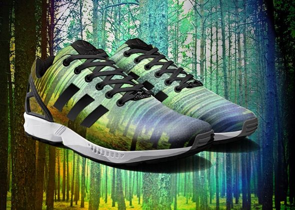 The Adidas photo printing service for ZX Flux sneakers will be available on  both Apple iOS and Android devices and will make it easy for you to print  your ... c264180d35