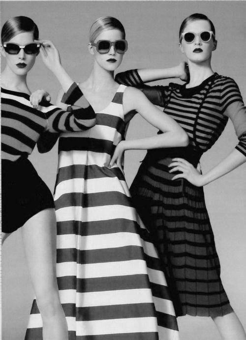 "Elle France: Natasha Poly & Iselin Steiro in ""Fashion Party"" by Jean-Baptiste Mondino"