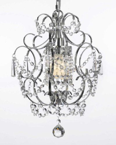 "Chrome Crystal Chandelier Chandeliers Lighting H 15"" W 11.5"" The Gallery,http://www.amazon.com/dp/B00FFGHRD2/ref=cm_sw_r_pi_dp_HC92sb1020AZZMGZ"