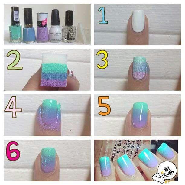 Tweenlife Ombre Nail Designs Ombre Nails Tutorial Nail Art Techniques