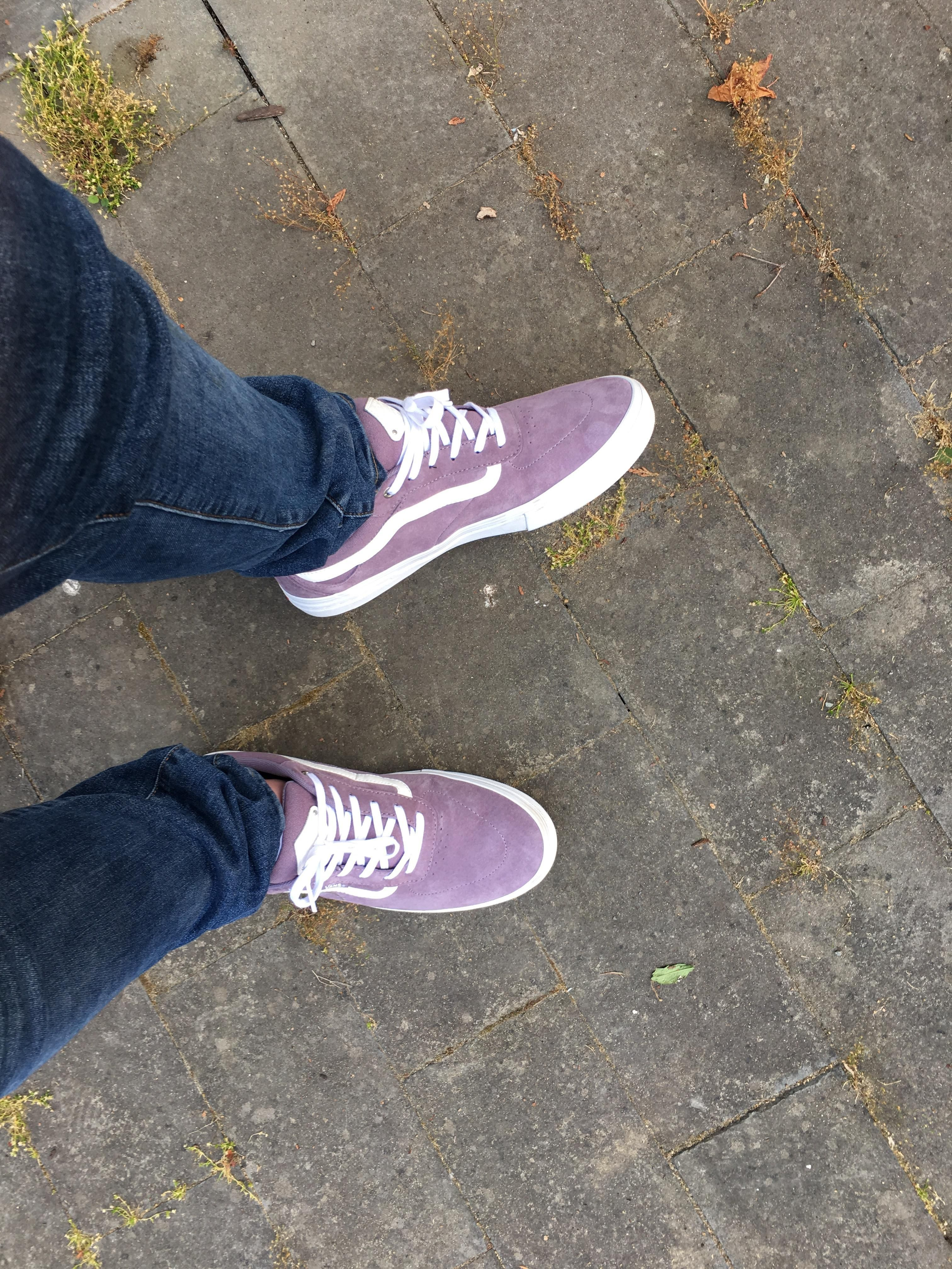 LPU  My new shoes for skating (Vans Kyle Walker Pro Dawn Purple ... 95dd1736d