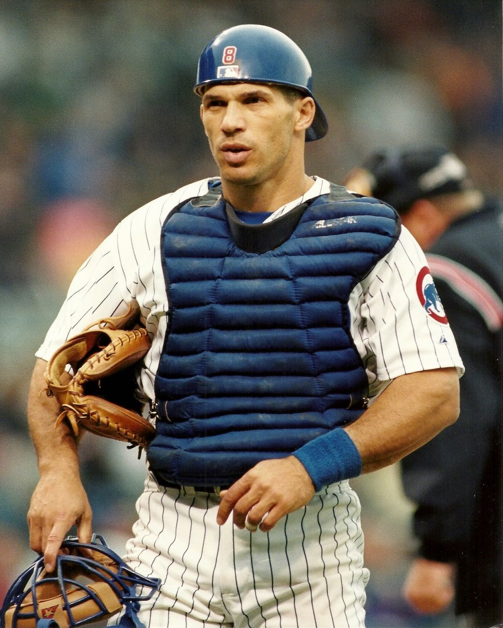 Joe Girardi 8x10 Action Photo Major League Baseball Chicago Cubs 8 Northwestern Chicago Cubs Chicago Cubs History Mlb Chicago Cubs