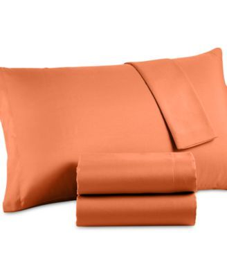 CLOSEOUT! Solid Microfiber Twin Sheet Set