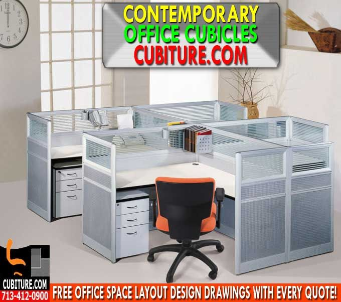 Contemporary Office Cubicles Direct From The Manufacturer Cubiture Com Usa Free Shipping Call 713 412 0900 For A Quote