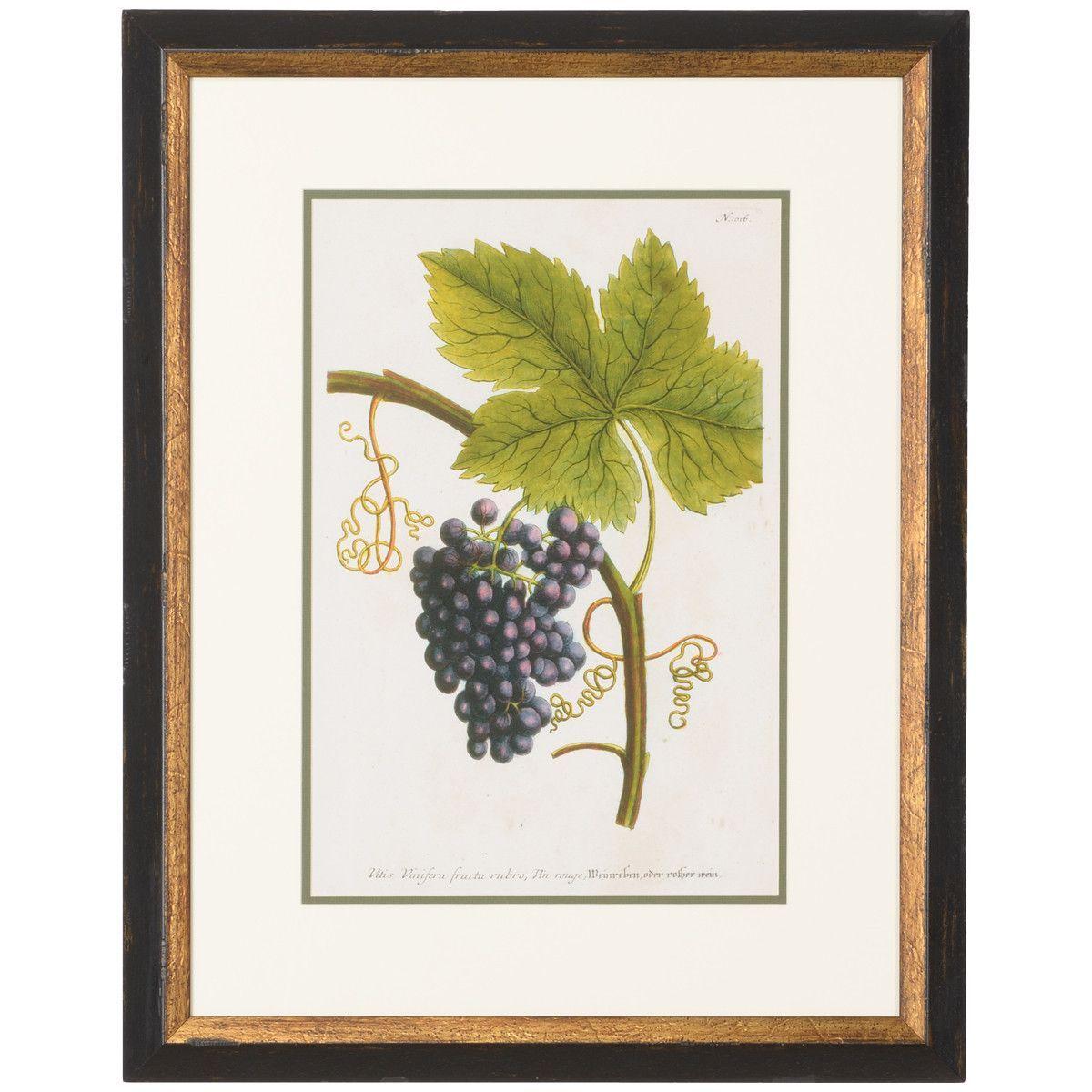 Chelsea House Grapes No. 1016 Gold Art