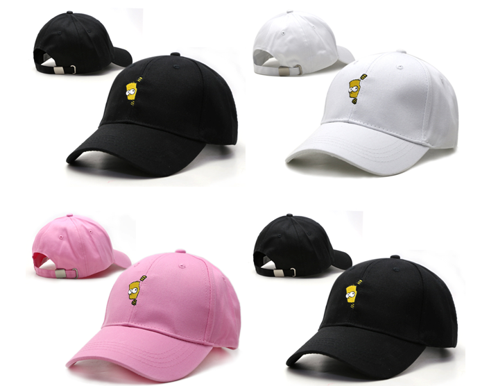 457259f2c60 The Simpsons Peaked Cap Hat With Logo Bart Simpson - Price   29.99. Buy now