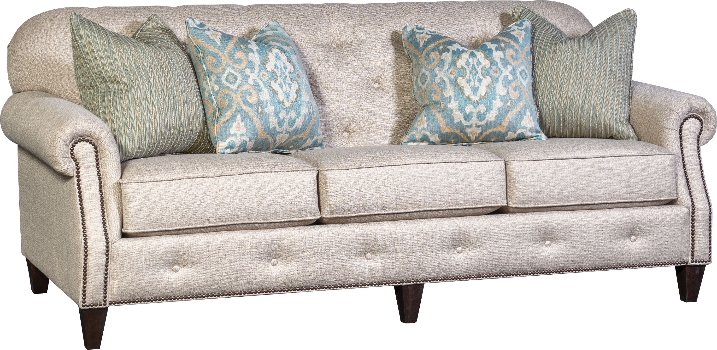 2262f Sofa In Hanson Greige With Images Cushions On Sofa Living Room Sofa Stacy Furniture