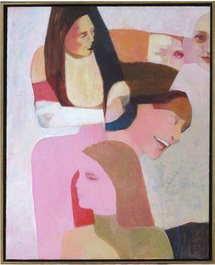 "Saatchi Online Artist Sally Schaedler; Painting, ""Facets"" #art"