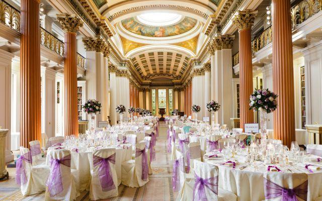 The Signet Library Unique Exclusive Use Wedding Venue Edinburgh Scotland