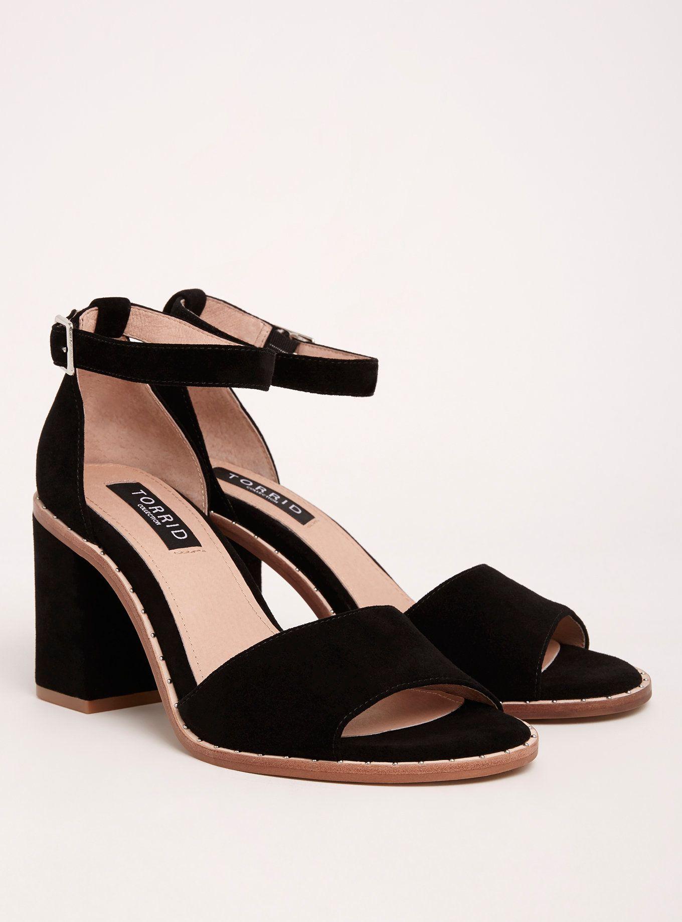 5bb5d86d77e Collection Studded Welt Block Heels (Wide Width)   Style   Wide ...