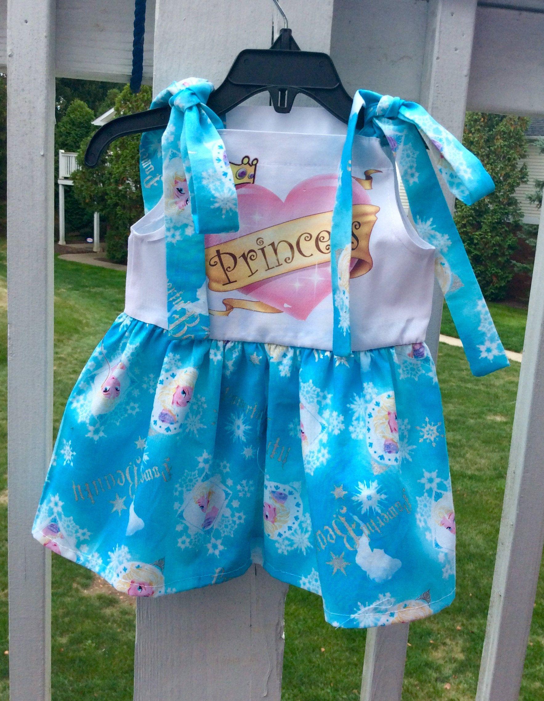 PRINCESS DESIGN DRESS, School dress, Princess dress, Party drss ...