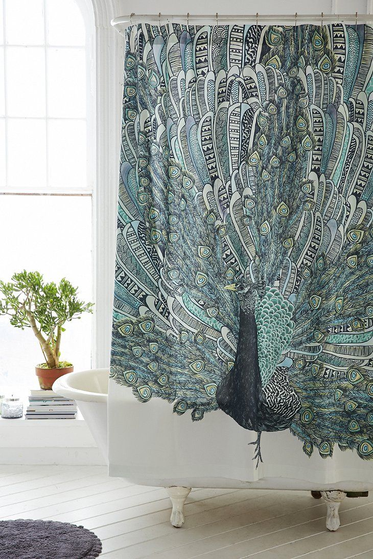 Shower Curtain Liner With Images Peacock Shower Curtain Urban Outfitters Curtains Elephant Shower Curtains