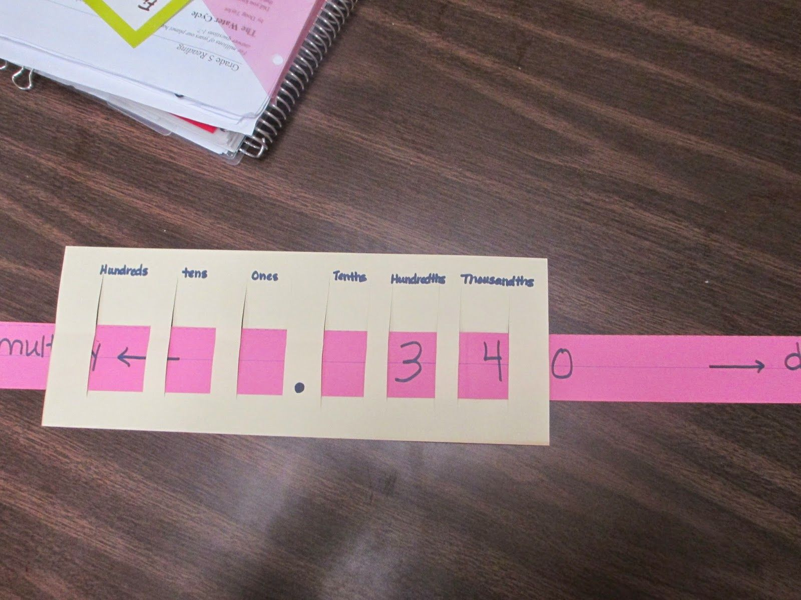 Mathematical Mondays Tool For Multiplying Decimals By