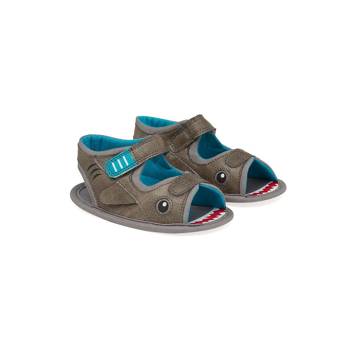 First Walker Shark Sandals - boys first