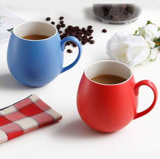 350ml Eco Friendly Porcelain Tatu Coffee Mug Colorful Ceramic Milk Cup Fashion Drinkware Sh115 593