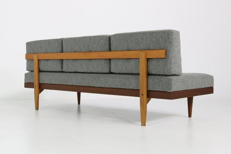 1960s Scandinavian Daybed Svane Mobler Teak And Beech Mid Century Modern Sofa In 2020 Vintage Mid Century Sofa Mid Century Modern Daybed Mid Century Modern Couch