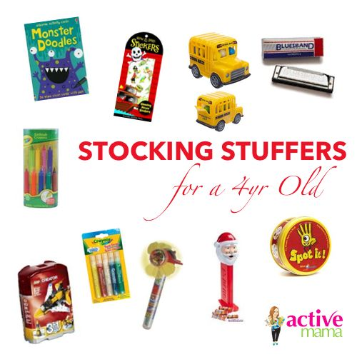 Stocking stuffers perfect for a 4 year old (With images ...