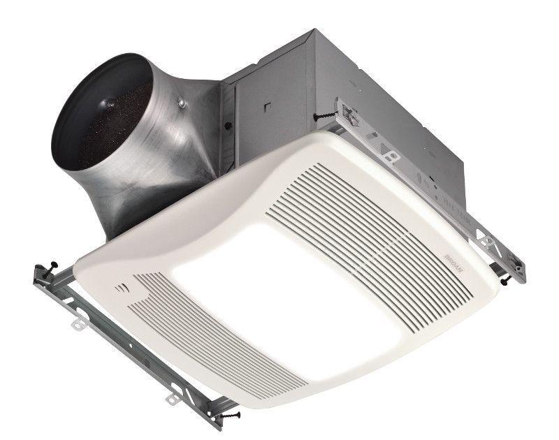 Ultragreen Dc Motor Technology For Energy Efficiency Almost 10 Times Greater Than Energy Star Requirements So Your Fan Won T Eve Bathroom Fan Broan Fan Light
