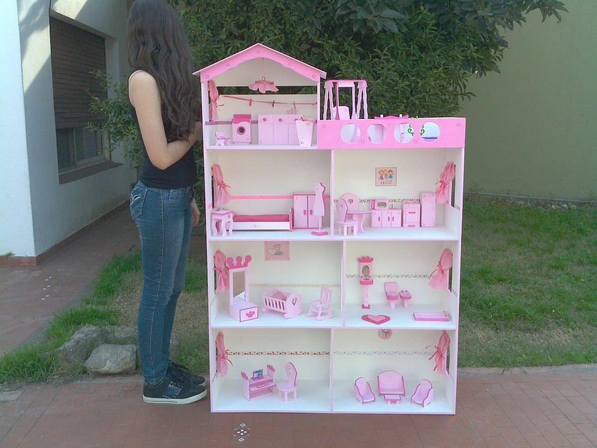 Casas para mu ecas bs en mercadolibre wooden toys pinterest casas para - Munecos para casa de munecas ...