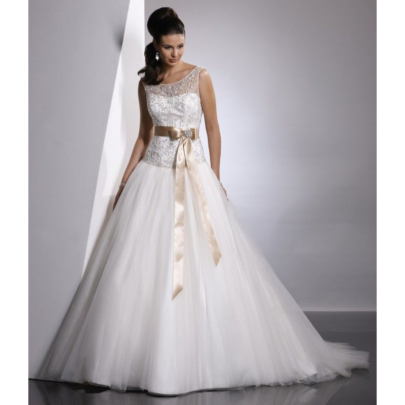 champagne colored wedding   ... Wedding Dresses Champagne Yellow ...