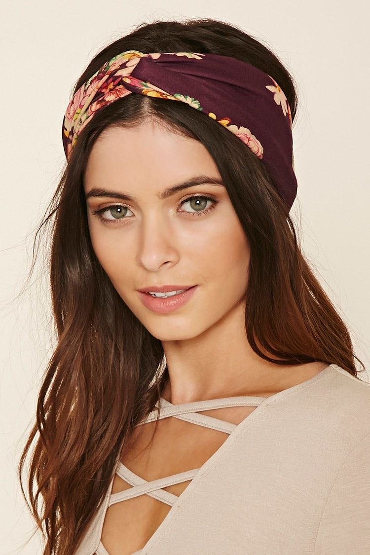 soft knit headwrap featuring