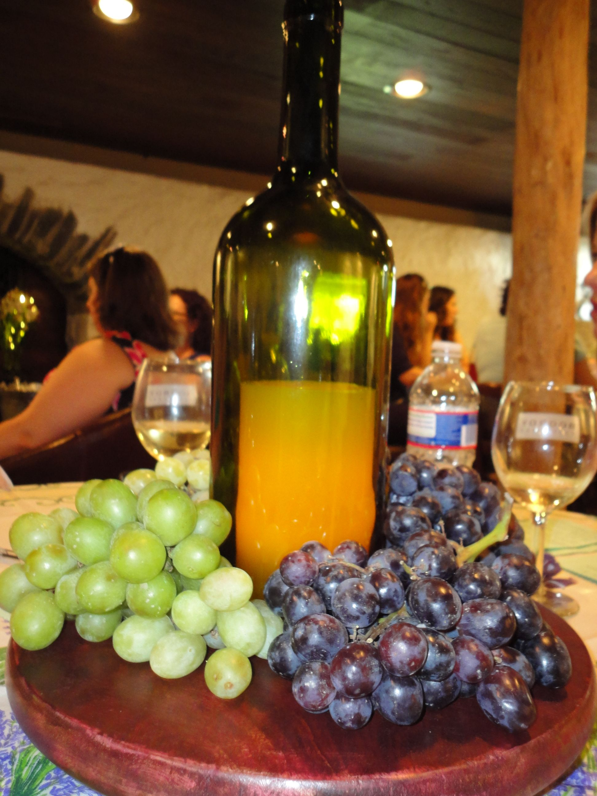Wine Themed Bridal Shower Centerpieces The At Boordy Vineyards In Barn