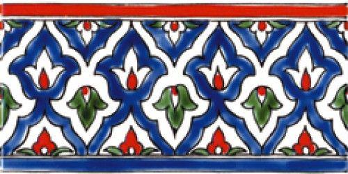 Istanbul Border 4x8 Painting Ceramic Tiles Tile Art