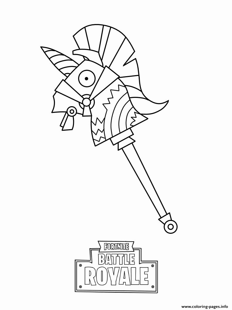 28 fortnite llama coloring page em   desenhos