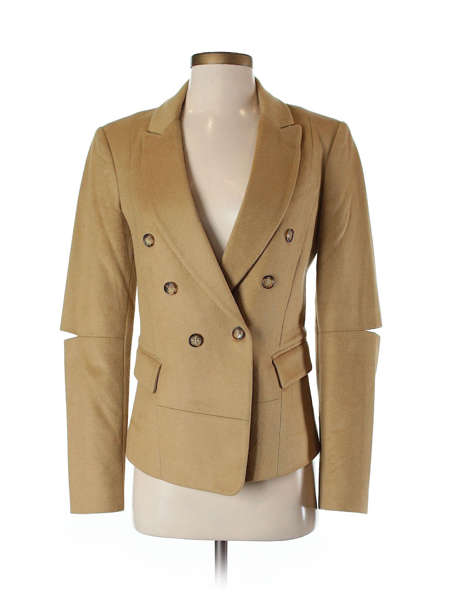 Michael Kors Tan Wool Blazer Size 4 85 Off Blazer Wool Blazer Outerwear Jackets [ 2048 x 1536 Pixel ]